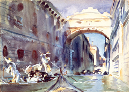 Sargent in Venice